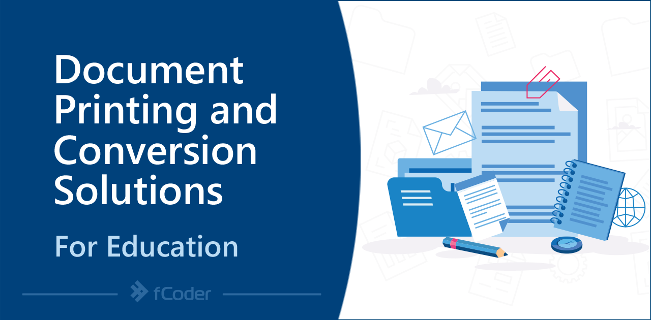Coder Document Printing and Conversion Solutions for Education