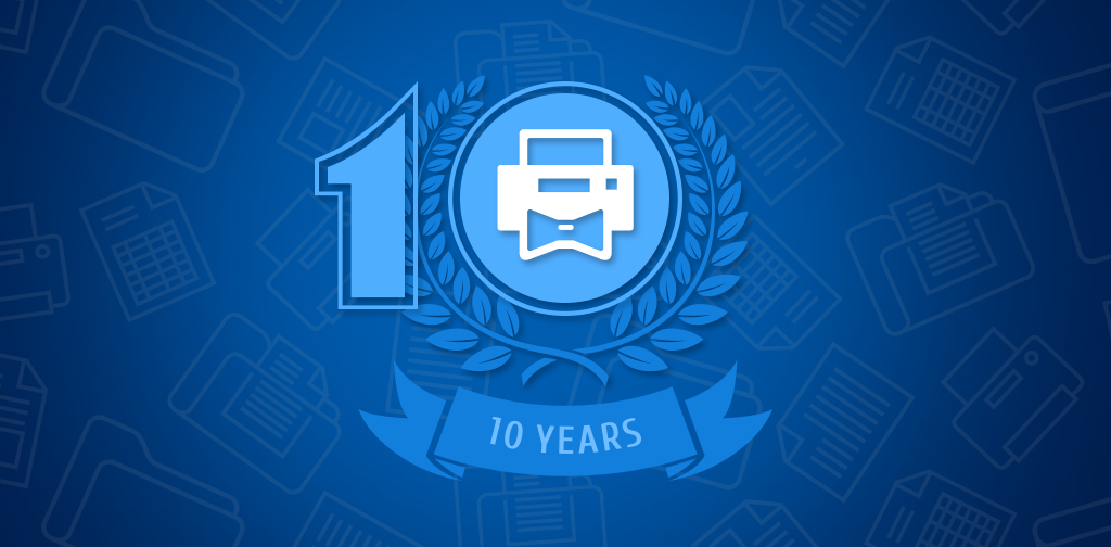 Print Conductor 10 years anniversary