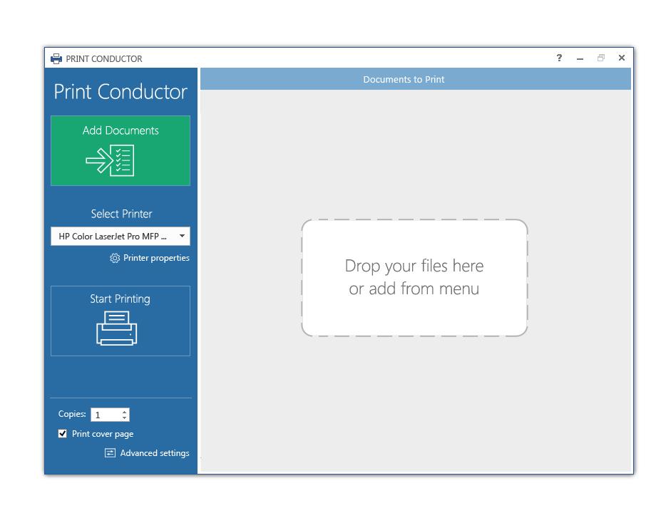 Print Conductor 5.0 interface idea variant 05