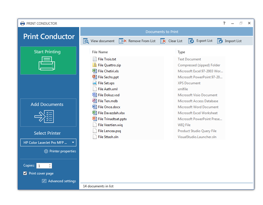 Print Conductor 5.0 interface idea variant 06